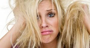 قناع الشعر الجاف من الزيوت الطبيعية