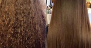 قناع الشعر المتكسر و مضاعفة نموه