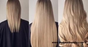 وصفة لتطويل الشعر بسرعة  الشعر الجاف و الدهني